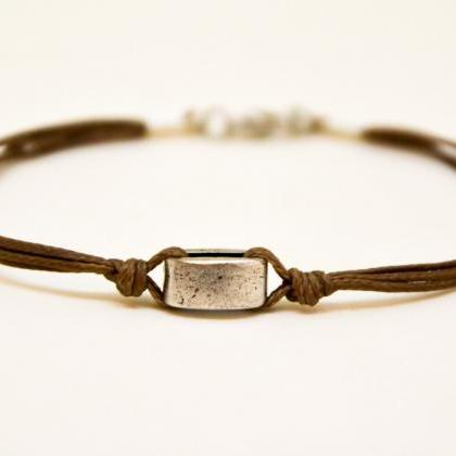 Father's day gift, Brown bracelet f..