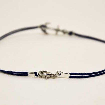 Anchor anklet for men, men's anklet..