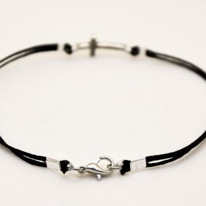 Graduation gift, Cross bracelet for..