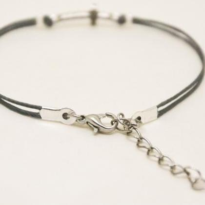 Cross bracelet, women bracelet with..